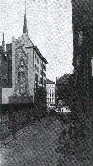 Julius Klinger - Julius Klinger: firewall, ca.1920