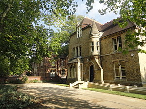 Kellogg College, Oxford - 60 Banbury Road, Kellogg College's main entrance
