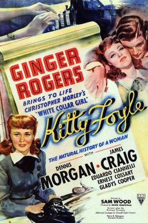 Kitty Foyle (film) - The original 1940 cinema poster