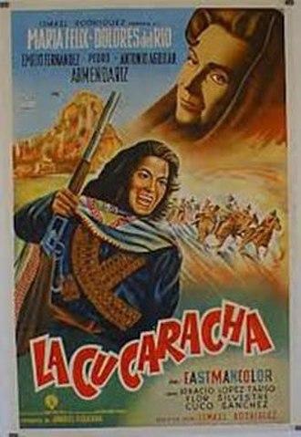 The Soldiers of Pancho Villa - Image: La Cucaracha movie poster