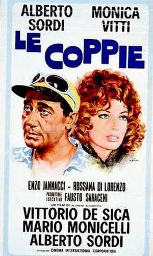 Le coppie - Image: Le coppie (1970 Italian Film) poster