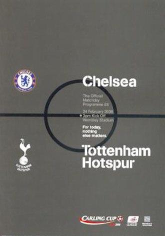 2008 Football League Cup Final - Image: League Cup Final 2008 Chelsea Spurs