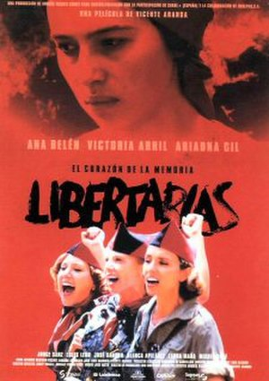 Libertarias - Theatrical release poster