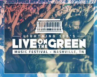 Live on the Green Music Festival - Image: Live On The Green Logo