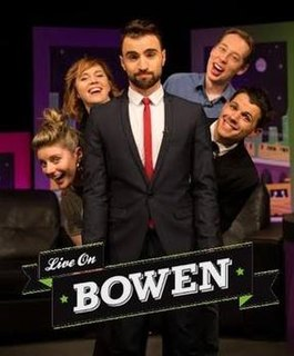 <i>Live on Bowen</i> television series