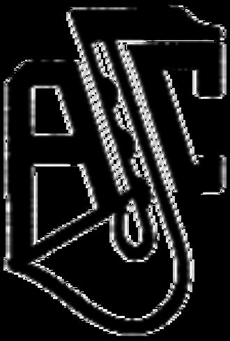 Antwerp Jazz Club (AJC) - Image: Logo of the Antwerp Jazz Club (Dutch, 'Antwerpse Jazz Club'; abbreviated 'AJC') (13 September 2016)