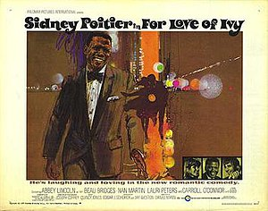 For Love of Ivy - Theatrical poster