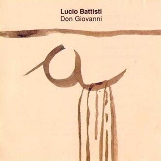 Don Giovanni (album) - Image: Lucio Battisti Don Giovanni (CD cover)