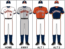 photograph relating to Houston Astros Printable Schedule identified as Houston Astros - Wikipedia