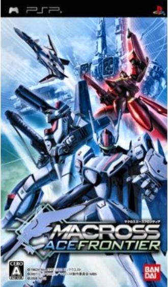 Macross Ace Frontier - Japanese boxart of Macross Ace Frontier.