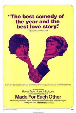 Made for Each Other (1971 film) - Image: Madeforeachotherpost er