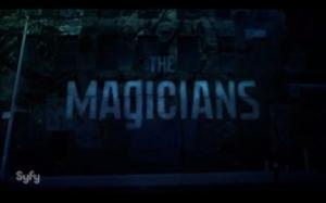 The Magicians (U.S. TV series) - Image: Magicians T Vseries Logo