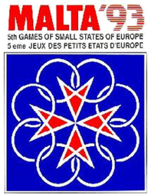 1993 Games of the Small States of Europe - Image: Malta 1993logo