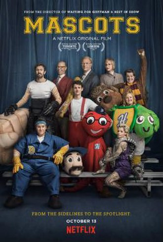 Mascots (2016 film) - Film poster