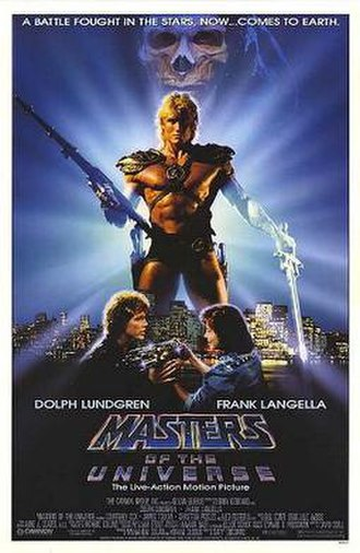 Masters of the Universe (film) - Theatrical release poster