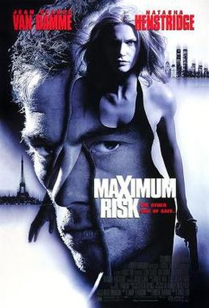 Maximum Risk - Original Theatrical Poster