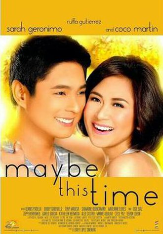 Maybe This Time (2014 film) - Maybe This Time theatrical movie poster