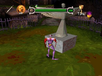 MediEvil - The second level