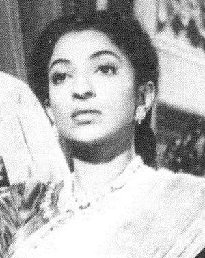 Mehtab (actress) - Screen shot from Jhansi Ki Rani