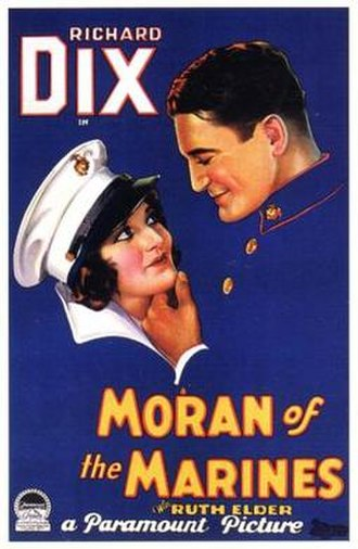 Moran of the Marines - Theatrical release poster