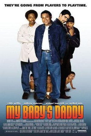 My Baby's Daddy - Theatrical release poster