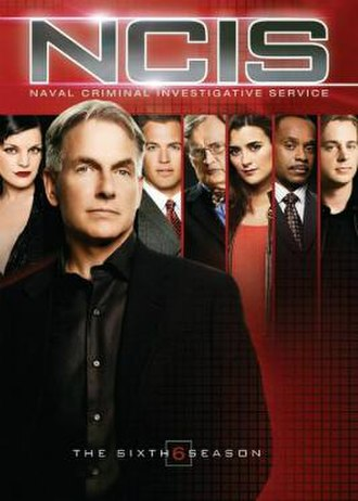 NCIS (season 6) - Season 6 U.S. DVD cover