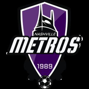 Nashville Metros - Image: Nashville Metros logo 2012