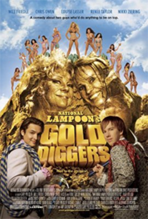 National Lampoon's Gold Diggers - Promotional poster