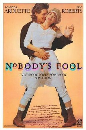 Nobody's Fool (1986 film) - Theatrical release poster