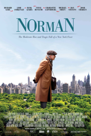 Norman: The Moderate Rise and Tragic Fall of a New York Fixer - Theatrical release poster