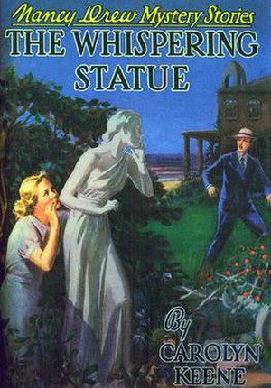 The Whispering Statue - Original edition cover