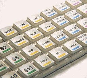 Pad printing - Image: Pad Printing keyboard Lg