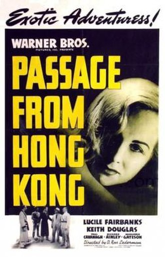 Passage from Hong Kong - Theatrical release poster