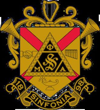 Phi Mu Alpha Sinfonia - Image: Phi Mu Alpha Sinfonia Crest