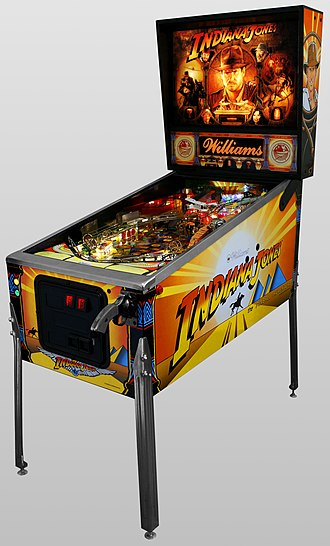 Indiana Jones: The Pinball Adventure - Image: Pinball Indiana Jones Oblique