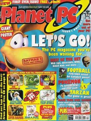 Planet PC - Cover of the first issue of Planet PC