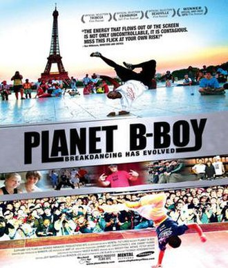 Planet B-Boy - Promotional movie poster