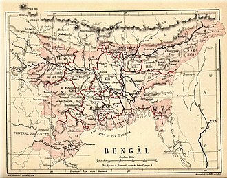 An 1880 map of Bengal Pope1880BengalPres2.jpg