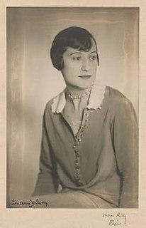 Suzanne Duchamp French Dadaist painter