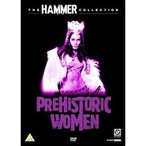 Prehistoric Women (1967 film) - DVD cover