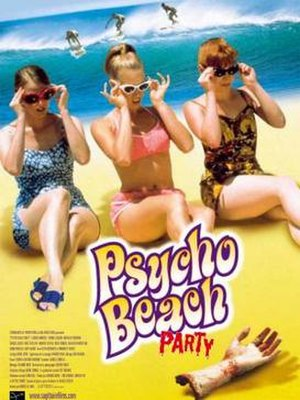 Psycho Beach Party - Film poster