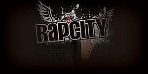 RapCity - The show's logo