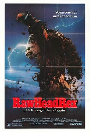 Rawhead Rex (film) - Theatrical release poster.