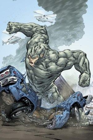 Rhino (comics) - Image: Rhinopreview
