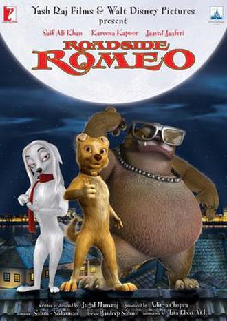 Roadside Romeo - Theatrical release poster
