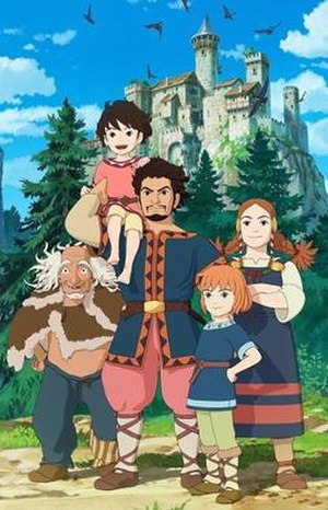 Ronja, the Robber's Daughter (anime) - Image: Ronia the Robber's Daughter anime, promo image