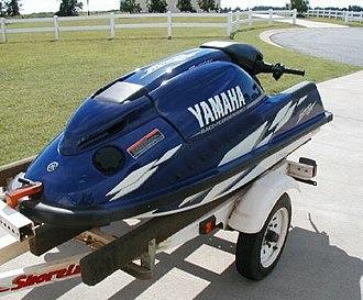 Yamaha SuperJet - 2000 SuperJet in Yamaha Factory Blue/White color scheme