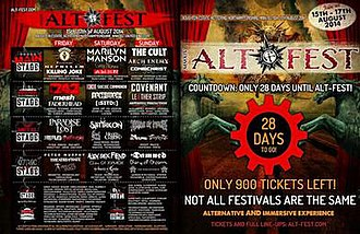 "Alt-Fest - ""The world's largest celebration of alternative culture, music, art and lifestyles"""