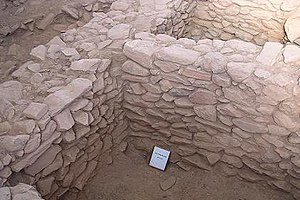 History of Eritrea - Excavation of archaeological site outside of Sembel.