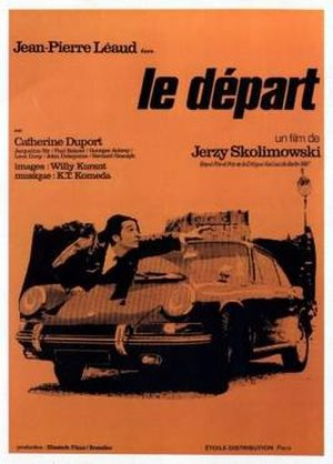 The Departure (film) - Image: Skolomowski film Le depart 1967 poster